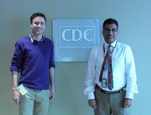 James Vaughan au CDC.